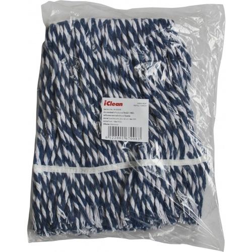 ICLEAN อะไหล่ผ้า 10นิ้ว สีน้ำเงิน M-3030R สีน้ำเงิน