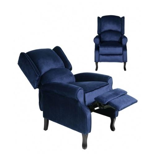Pulito เก้าอี้พักผ่อน PULITO  Arbuthnot Blue สีน้ำเงินเข้ม  น้ำเงินเข้ม