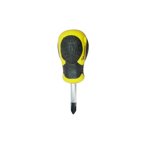 HUMMER ไขควงปากแฉกหัวแม่เหล็ก ขนาด 6x38มม.  รุ่น WT-846  สีเหลือง