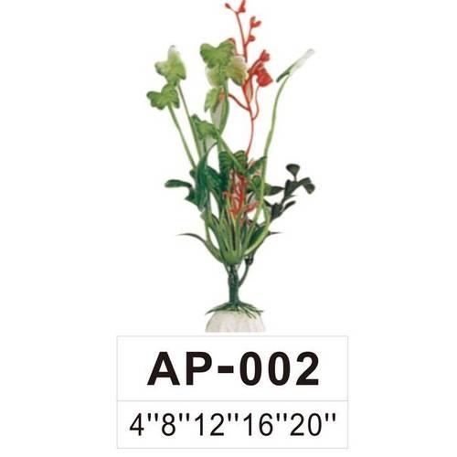 BOYU ต้นไม้เทียมประดับตู้ปลา สูงขนาด 8 นิ้ว  AP-002