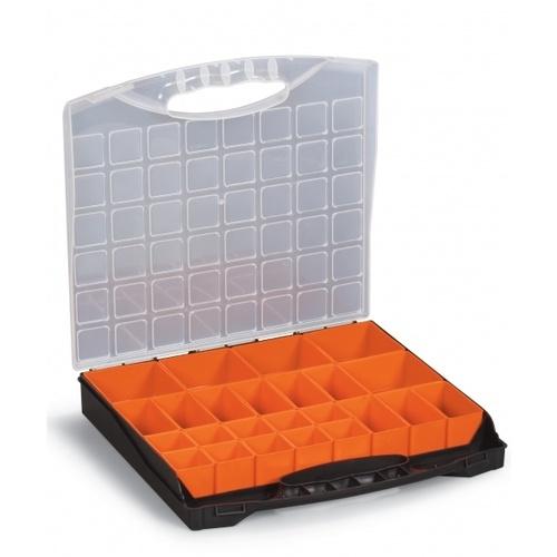 PORT-BAG กล่องเครื่องมือช่าง(ถอดไส้ในได้) PP.05 สีส้ม