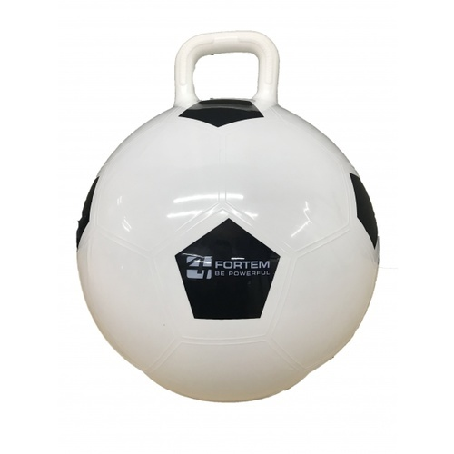 FORTEM ลูกบอลมีหูจับ 45 ซม. ลายฟุตบอล  เหมาะสำหรับเด็ก 4 ขวบขึ้นไป ARK-HPB-3#45FB