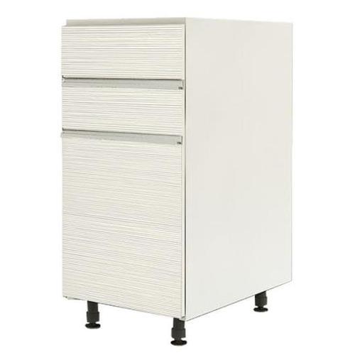 ตู้ตั้งพื้นบานเปิด-ลิ้นชัก ZER-D-S1-8440X-WH สีขาว Eazy Modem ขาว