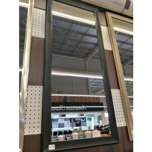 - กระจกเงากรอบ  ขนาด 54X129 ซม. DWK-45120  สีดำ