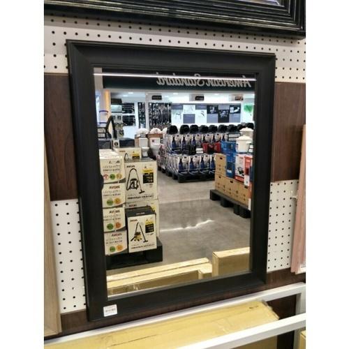 - กระจกเงากรอบ  ขนาด  54X69 ซม.  DWK-4560 สีดำ