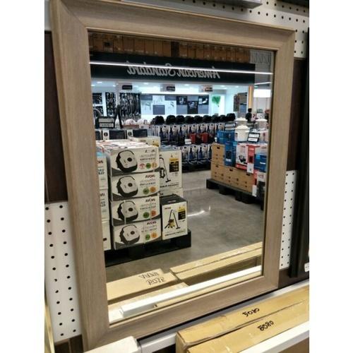 - กระจกเงากรอบ ขนาด 54X69 ซม. DWZ-4560 สีครีม