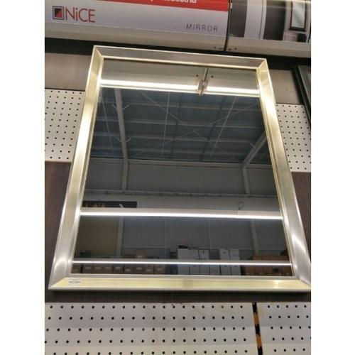 - กระจกเงากรอบ ขนาด 67X87 ซม.  DMV-6080 สีเงิน