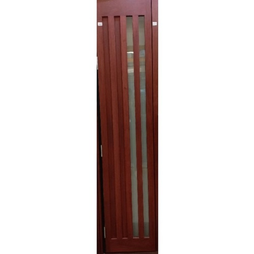 BEST ประตูกระจกไม้สยาแดง ขนาด 45x220 cm. GS-47