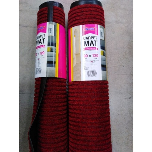 GRAFFE พรมดักฝุ่นกันลื่น ขนาด 90x120ซม. หนา 0.7มม.  CM1000RD912 สีแดง