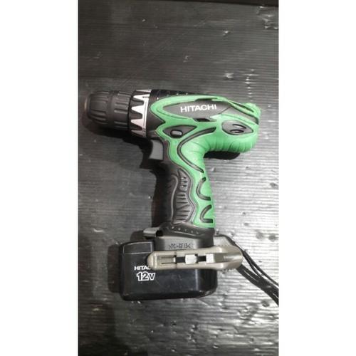 HITACHI สว่านไฟฟ้าไร้สาย12V12mm./DS12DVF3  เขียว