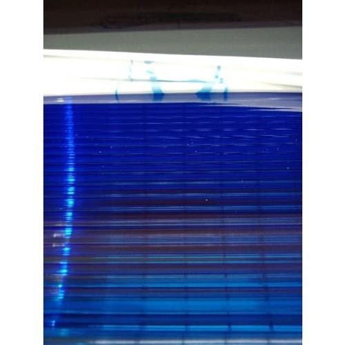 - โพลีคาร์บอเนตสีฟ้าน้ำเงิน1.22mx2.44mx6mm  -