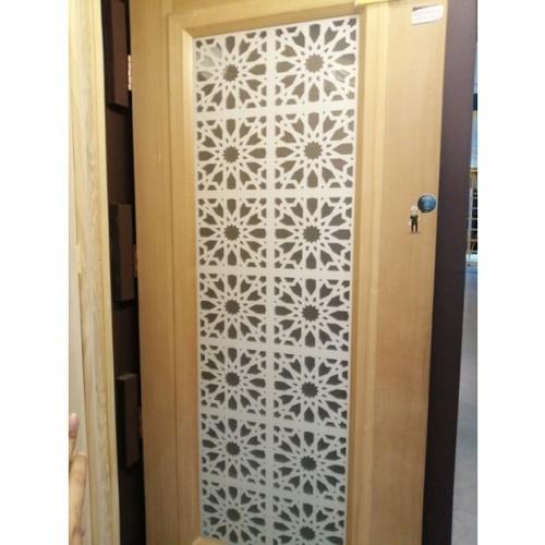 D2D ประตูไม้สนนิวซีแลนด์ ขนาด 90x220 cm. 620