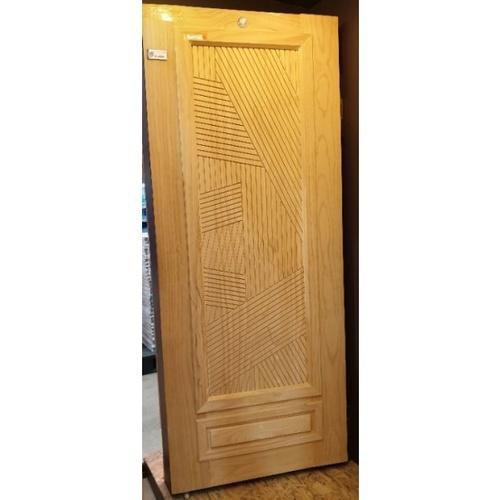 D2D ประตูไม้สนนิวซีแลนด์ ขนาด 90x220cm. 613