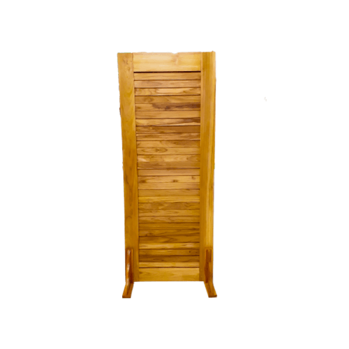 SJK ประตูไม้สัก ขนาด 80x200ซม.  SJK001