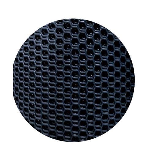POLLO ตาข่ายพลาสติกหกเหลี่ยม สีดำ 7มิล 30x0.9ม.PQS-2019-2 PQS-2019-2