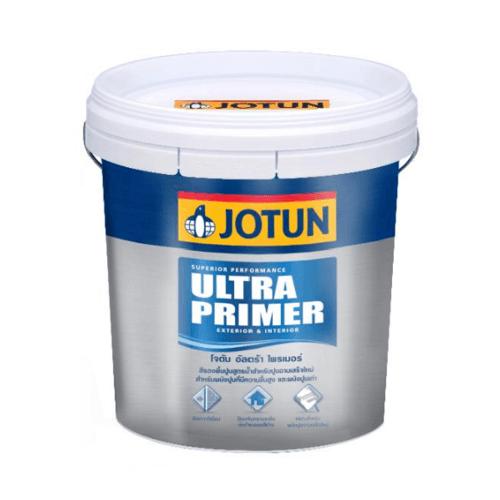 JOTUN ของแถม-สีรองพื้นเอนกประสงค์ อัลตร้าไพร์เมอร์ 9 ลิตร  ULTRA PRIMER(T) WHITE   9L.