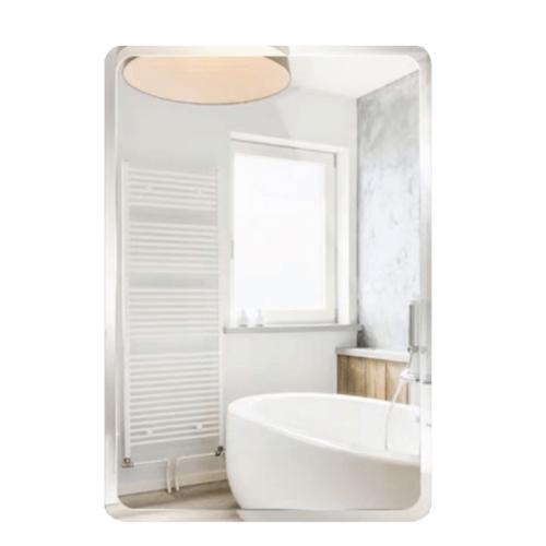 NICE กระจกเงาทรงเหลี่ยม ขนาด 45x60ซม. PQS-XS6045E