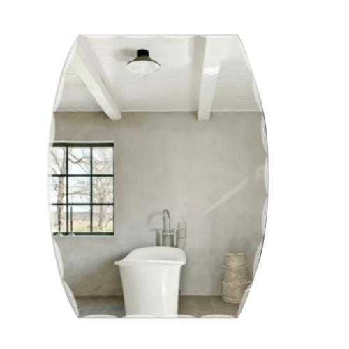 NICE กระจกเงาทรงเหลี่ยม PQS-XS6045F