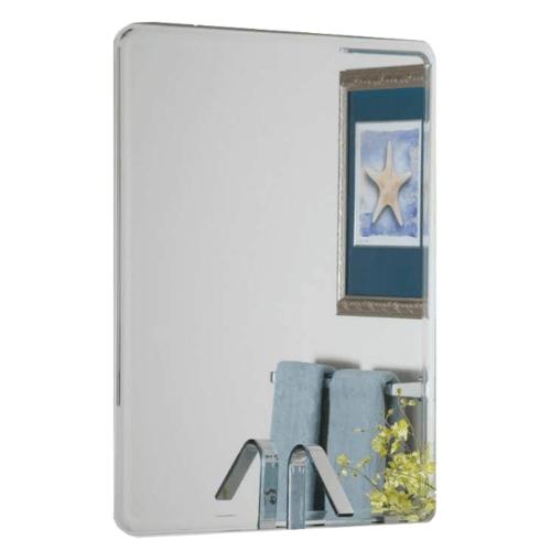 NICE กระจกเงาทรงเหลี่ยม ขนาด 45x60ซม.  PQS-XS6045M