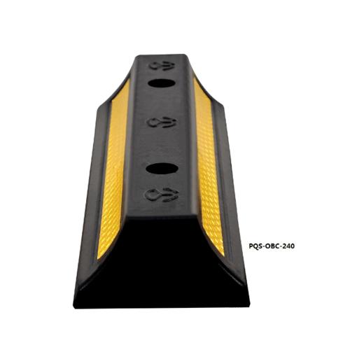 Protx ยางห้ามล้อ 47x15x8Cm.  สีดำ-เหลือง  PQS-OBC-240