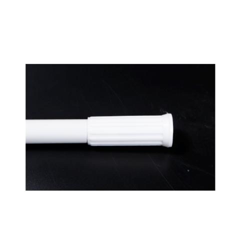 PRIMO ราวม่านห้องน้ำอลูมิเนียม ขนาด 70-120ซม. PQS-CB05-3 สีขาว