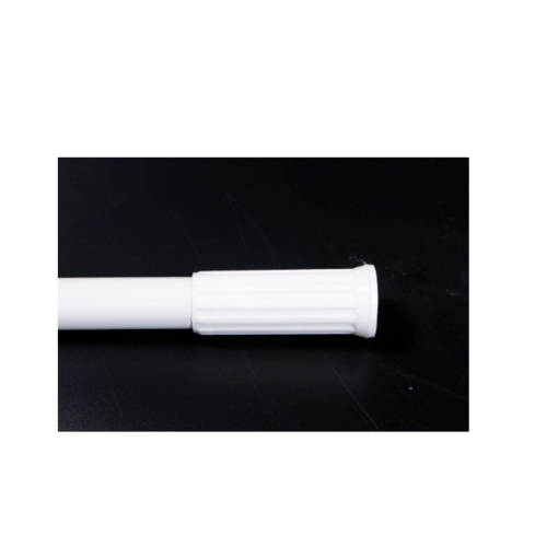 PRIMO ราวม่านห้องน้ำอลูมิเนียม ขนาด 110-200ซม.  PQS-CB05-4  สีขาว