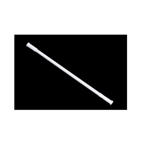 LUXUS ราวม่านห้องน้ำอลูมิเนียม ขนาด 140-260ซม. PQS-CB05-5 สีขาว