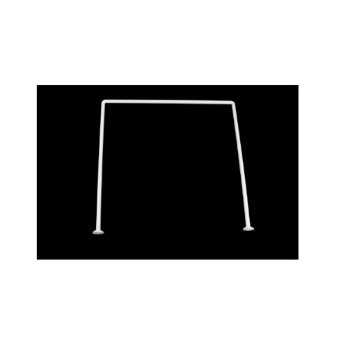 PRIMO ราวม่านห้องน้ำอลูมิเนียม ตัว U ขนาด 80x80x80ซม. รุ่น PQS-CB06-2 สีขาว Primo PQS-CB06-2 สีขาว