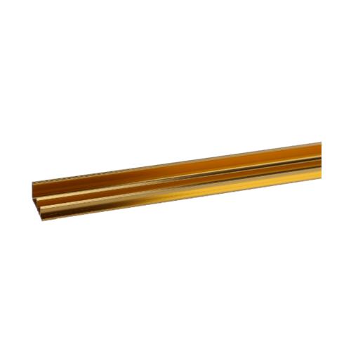 MAC จมูกบันไดอลูมิเนียม หน้ากว้าง 45 มม. ยาว 2 เมตร   DAT034 Gold