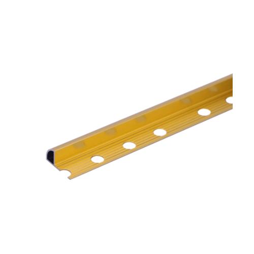 MAC คิ้วอลูมิเนียมแบบโค้ง 12 มม. ยาว 2 เมตร.   DAT014 Gold