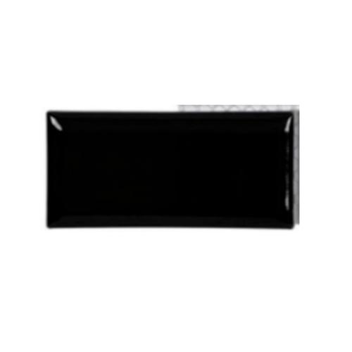 Mabella กระเบื้อง Subway 7.5x15cm Black Glossy สีดำ