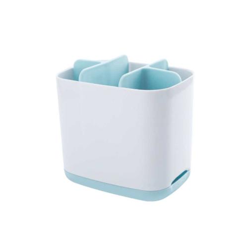 GOME กล่องใส่ของแบ่งช่อง ขนาด 9x12.5x11ซม.  SGY030 สีขาว
