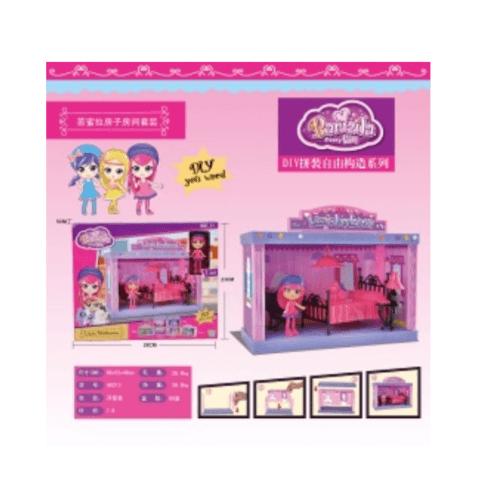Sanook&Toys ชุดห้องสูท Bamila 60213 28*23*5cm 60213  สีม่วง