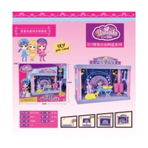 Sanook&Toys ชุดห้องสูทร็อค Bamila 28*23*5cm  60214