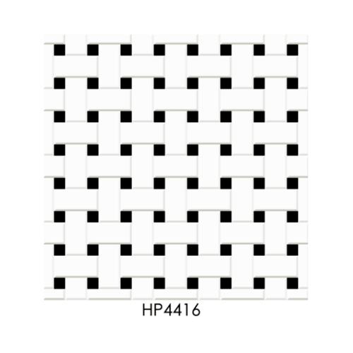 Marbella  16x16 กระเบื้องปูพื้น  คาเน่ ไวท์ HP4416 (12P) A.