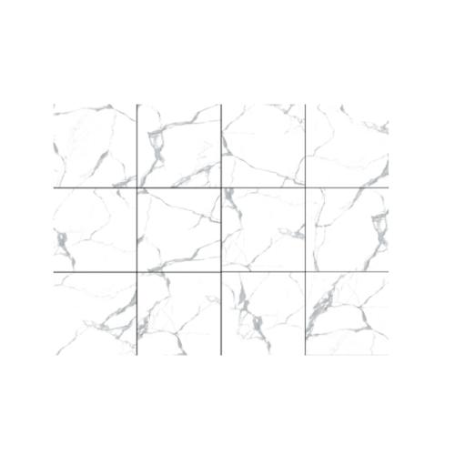 Marbella 60x60 โรมา-ไวท์ (4P) A. P6010  สีขาว