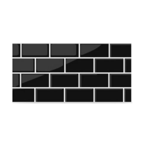 Marbella 30x60 การ์เด้นบริค-แบล็ค (8P) A.  LY-21 สีดำ