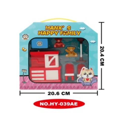 Sanook&Toys ของเล่นชุดห้องดนตรี  HY-039AE สีแดง