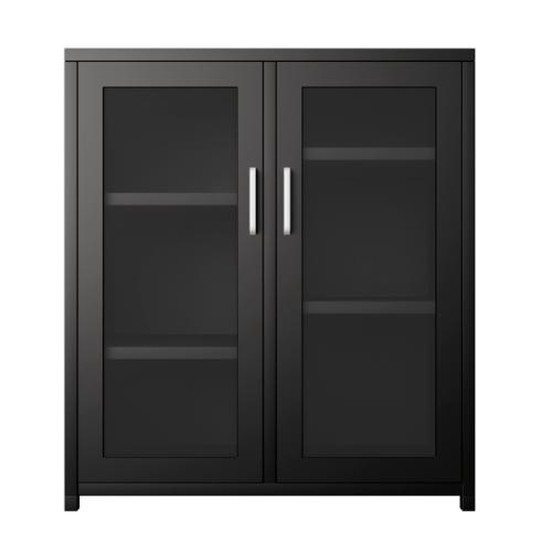 ULA ตู้เก็บของเหล็กอเนกประสงค์  ขนาด 80x43x90ซม. BDL09  สีดำ