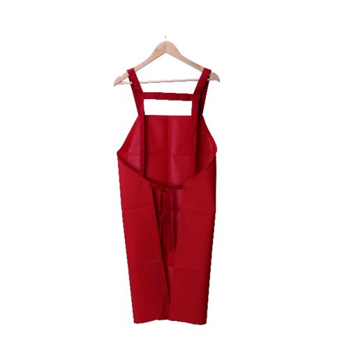 Protx ผ้ากันเปื้อนPVC  YJ-07 สีแดง