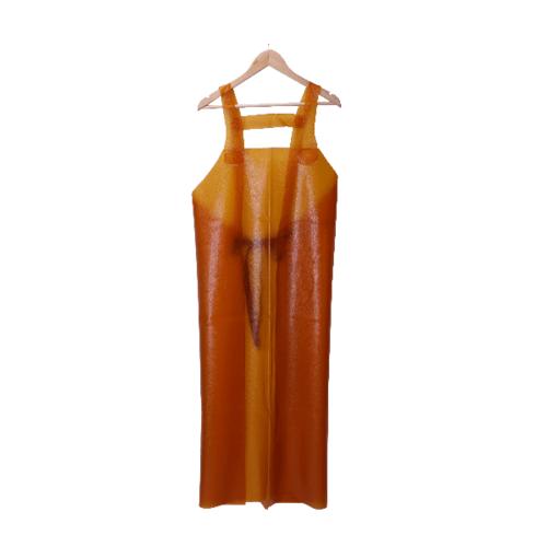 Protx ผ้ากันเปื้อนPVC YJ-22 สีส้ม