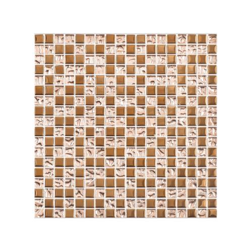 Marbella  โมเสคแก้ว 30x30x0.6cm  พิ้งค์โกล M0305JS