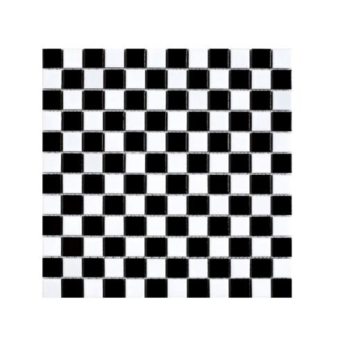 Marbella โมเสค ไนท์ C0305TC สี ขาว-ดำ