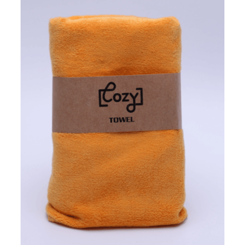 COZY ผ้าขนหนูไมโครไฟเบอร์ 30x70ซม. BQ015-OR สีส้ม