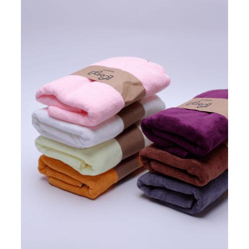 COZY ผ้าขนหนูไมโครไฟเบอร์ 30x70ซม. BQ015-CR สีครีม