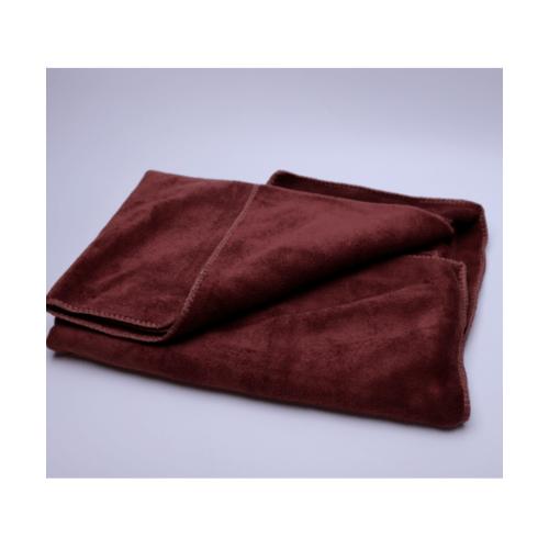 COZY ผ้าขนหนูไมโครไฟเบอร์ 70x140ซม. BQ016-BN สีน้ำตาลเข้ม