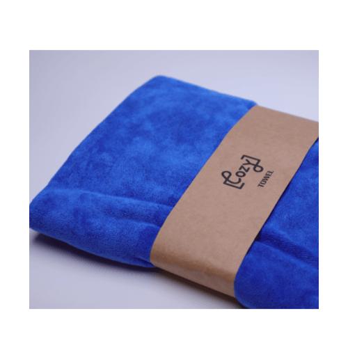 COZY ผ้าขนหนูไมโครไฟเบอร์ 70x140ซม. BQ016-NBL สีกรม