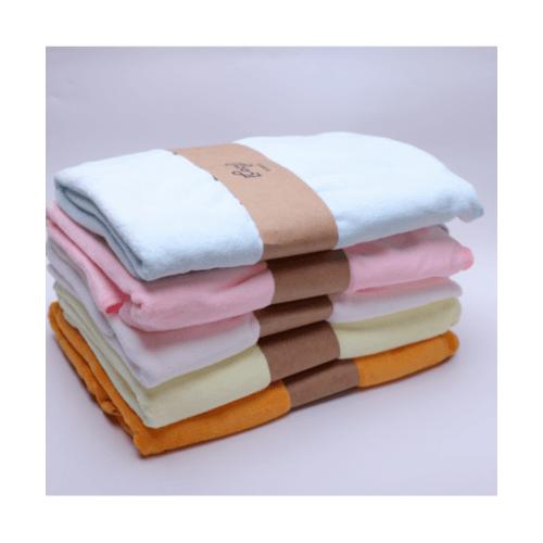 COZY ผ้าขนหนูไมโครไฟเบอร์ 70x140ซม. สีเบบี้บลู  BQ016-BBL