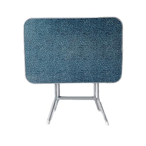 - โต๊ะพับหน้าไม้ขอบเหล็ก 3ฟุต สีเทาเข้ม   MT9161