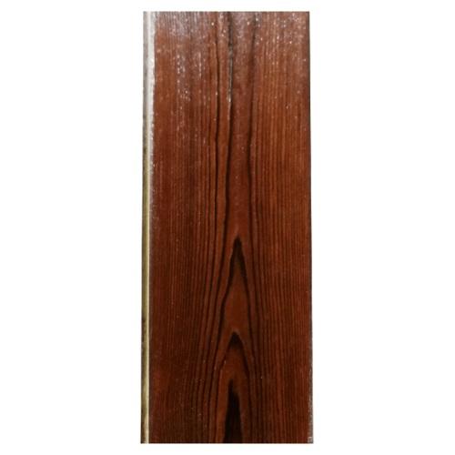 GREAT WOOD ไม้ตกแต่งผนังเคลือบกันยูวี (5แผ่น/แพ็ค) 85x2900มม. หนา 8มม. Dark Brown PB02C-UV-Dark สีน้ำตาลเข้ม
